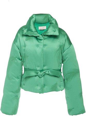 Edgar Cropped Jacquard Puffer Jacket