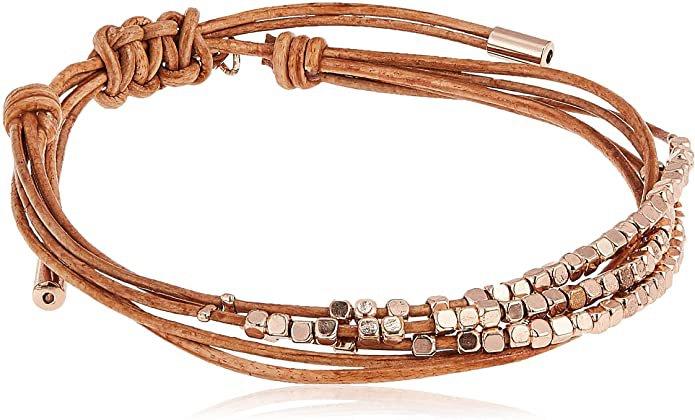 Fossil Dainty Rondel Slider Bracelet: Jewelry