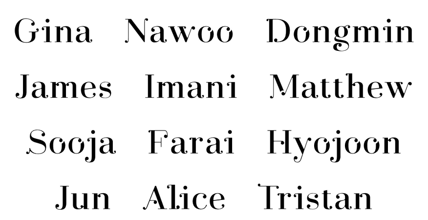 Heavenscent Birth Names 1