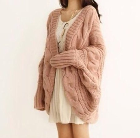 coat, knitted cardigan, cable knit, oversized cardigan, chunky cardigan, cuddle, cardigan, sweater, winter sweater, fall outfits, fashion, kawaii, girly, clothes - Wheretoget