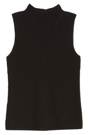 Chelsea28 Sleeveless Ribbed Sweater   Nordstrom