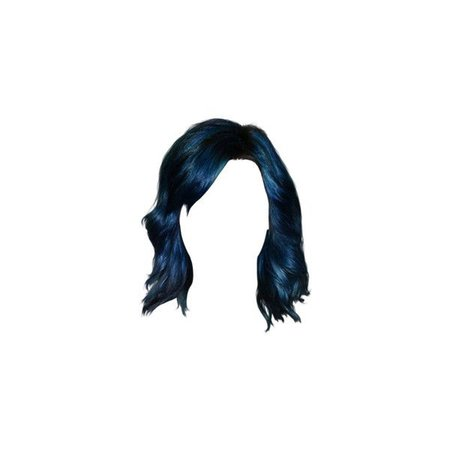blue hair polyvore - Google Search