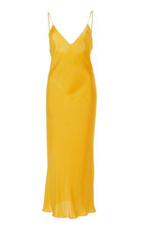 Maison Rabih Kayrouz Charmeuse Slip Dress