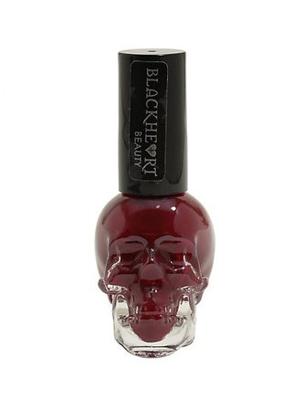 Blackheart Beauty Rose Red Nail Polish