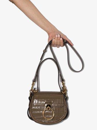 Chloé Small Tess croc-effect Shoulder Bag - Farfetch