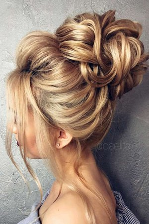 15 Pretty Chignon Bun Hairstyles to Try | Hair | Pinterest | Hair styles, Hair and Wedding Hairstyles