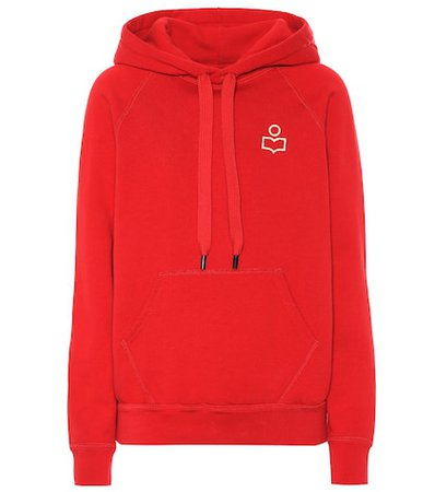 Malibu cotton-blend jersey hoodie