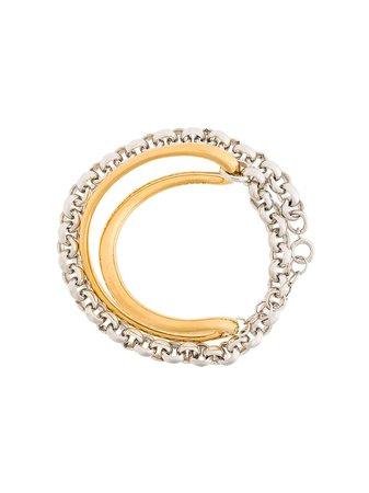 Charlotte Chesnais Initial Chain Bracelet | Farfetch.com