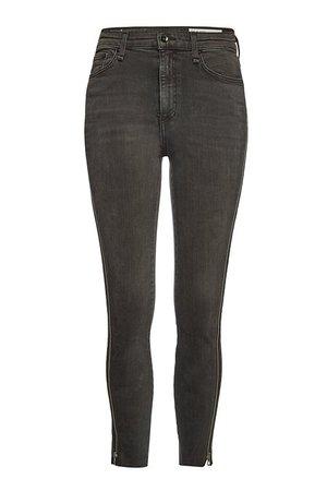 Rag & Bone/JEAN - Nina Skinny Jeans - grey