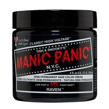 •• Manic Panic • Hair Dye; Raven ••