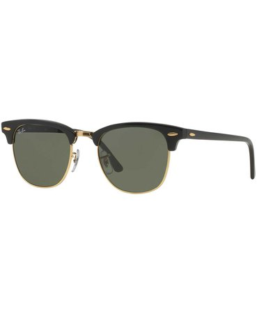 Ray-Ban CLUBMASTER Sunglasses, RB3016 49 - Sunglasses by Sunglass Hut - Handbags & Accessories - Macy's