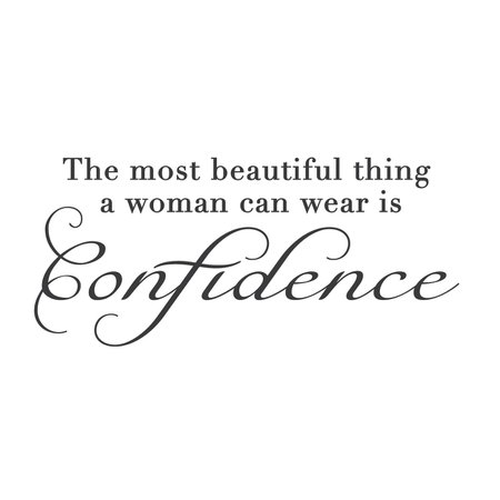 Women Confidence Quote