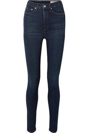 rag & bone   Jane Super high-rise skinny jeans   NET-A-PORTER.COM