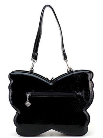 butterfly black bag