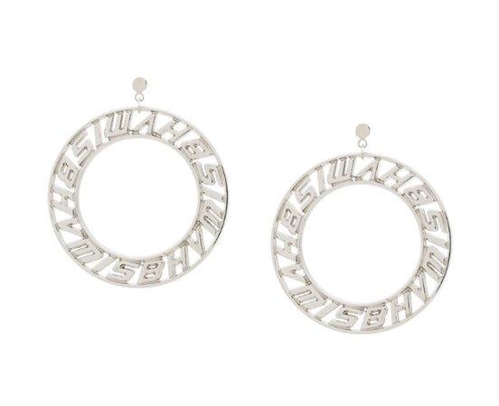 misbhv silver earrings