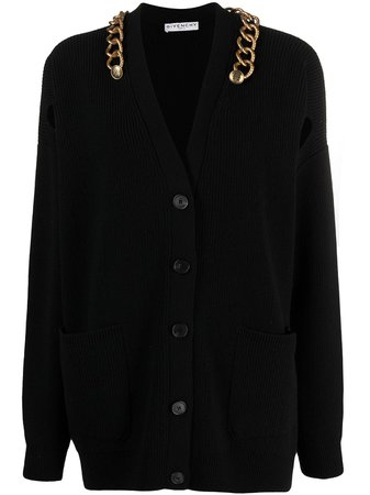 Givenchy chain-detail cardigan