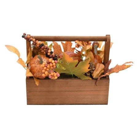 Way to Celebrate Harvest Floral Pumpkin Thanksgiving Artificial Flower Tabletop Decoration, Orange - Walmart.com - Walmart.com