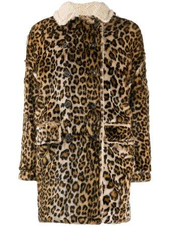 R13 Oversized Leopard-Print Coat   Farfetch.com