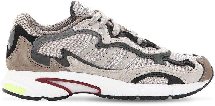 Temper Run Mesh & Suede Sneakers