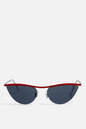Red Pink Orange Sunglasses | Bags & Accessories | Topshop