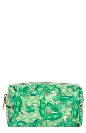 Skinny Dip Green Ferns Makeup Bag   Nordstrom
