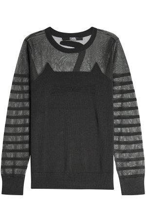Choupette Knit Pullover Gr. S