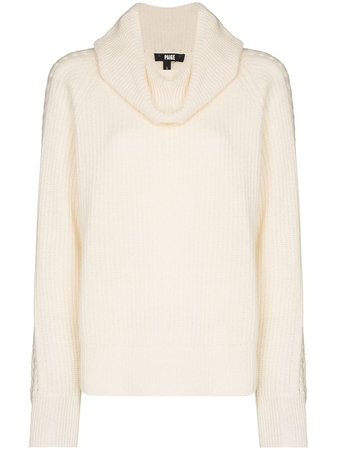 PAIGE Brynlee Roll Neck Cashmere Jumper - Farfetch