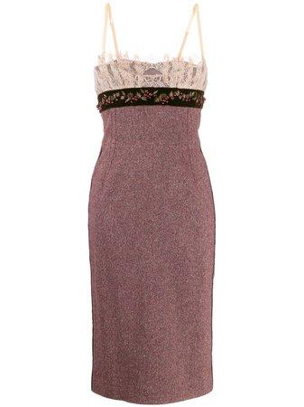 Dolce & Gabbana Vestito Con Ricamo - Farfetch