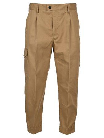 MSGM Msgm Cargo Pants - BEIGE - 11294064 | italist