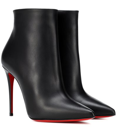 So Kate 100 Leather Ankle Boots | Christian Louboutin - Mytheresa
