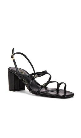 RAYE Portland Heel in Black | REVOLVE