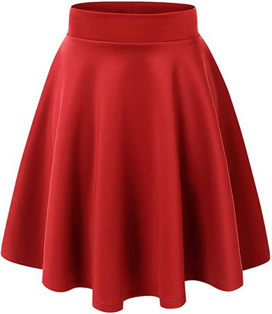 Womens Flirty Flare Skirt
