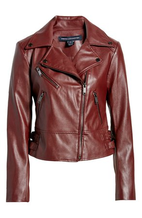 French Connection Faux Leather Moto Jacket | Nordstrom