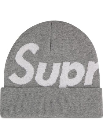Supreme Big Logo Beanie - Farfetch