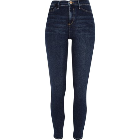 Dark blue Molly mid rise skinny jeggings - Jeggings - Jeans - women