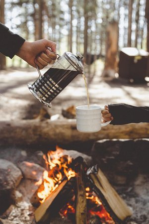 camping aesthetic