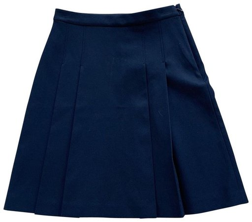 Tory Sport by Tory Burch Navy Blue Pleated Skirt