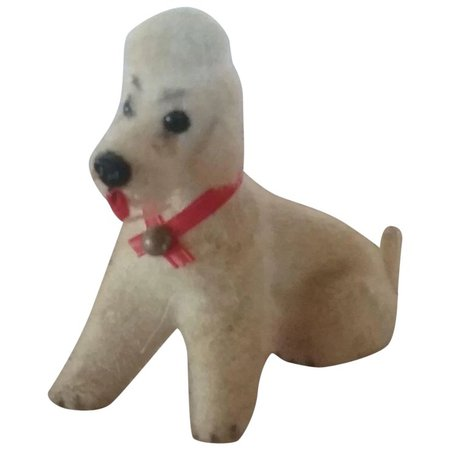 Vintage Miniature Doll House Poodle Dog West Germany : Your-Favorite-Doll | Ruby Lane