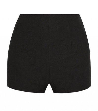 mini black shorts