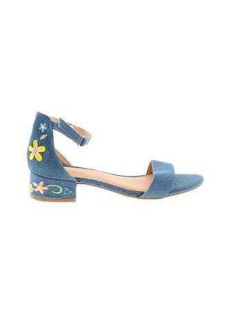 American Eagle Shoes Blue Heels Size 4 - 35% off   thredUP