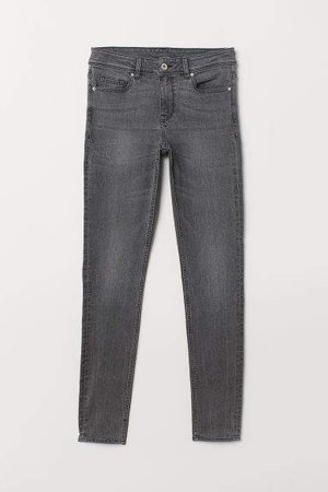 Super Skinny Regular Jeans - Gray