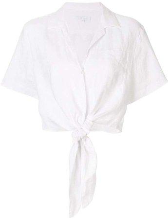Venroy front tie shirt