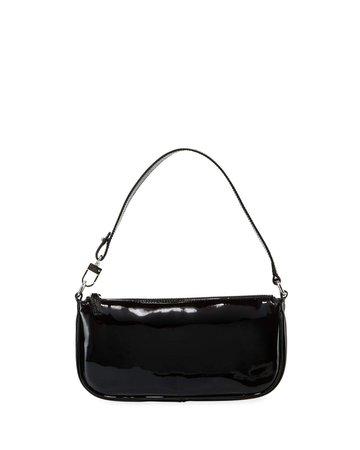 By Far Rachel Small Patent Shoulder Bag - Bergdorf Goodman