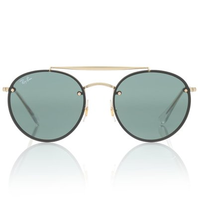 Blaze Double Bridge Sunglasses - Ray-Ban | mytheresa