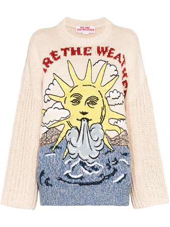Stella McCartney We Are The Weather Knitted Jumper - Farfetch