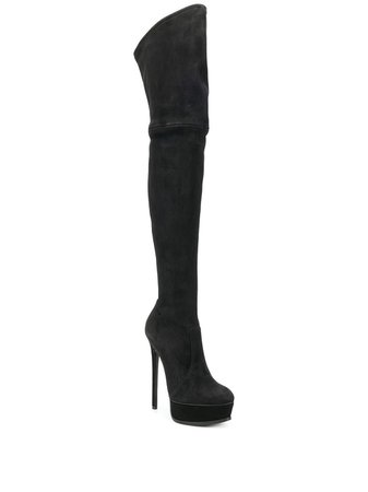 Casadei Stiletto Thigh Length Boots