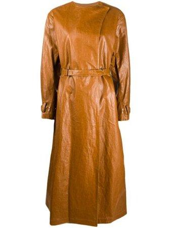 Isabel Marant Corly Belted Midi Coat - Farfetch