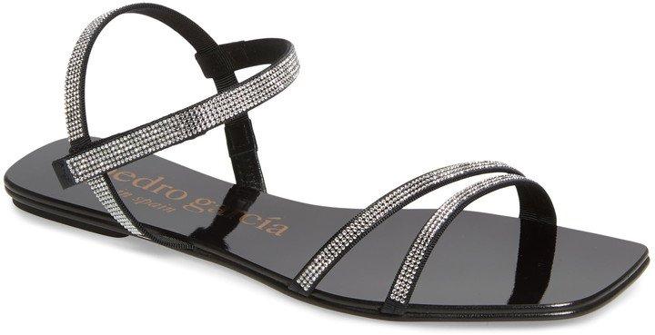 Kairi Crystal Embellished Flat Sandal