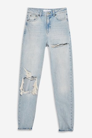 Bleach Willow Rip Mom Jeans | Topshop