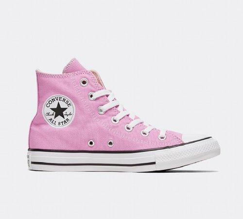 Converse Womens Chuck Taylor All Star High Trainer | Peony Pink | Footasylum
